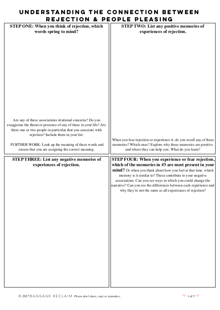 example image of a PDF worksheet